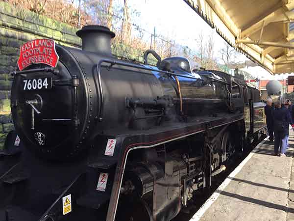 Phil P Steam train