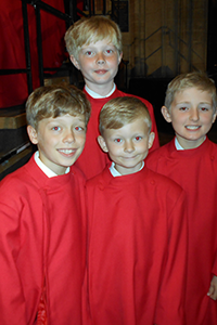 Cambridge choir