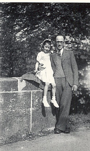 Dorothy and father