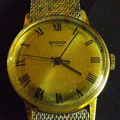 Fred Walton watch