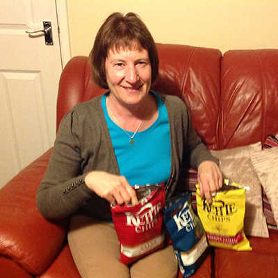 Me and kettle crisps