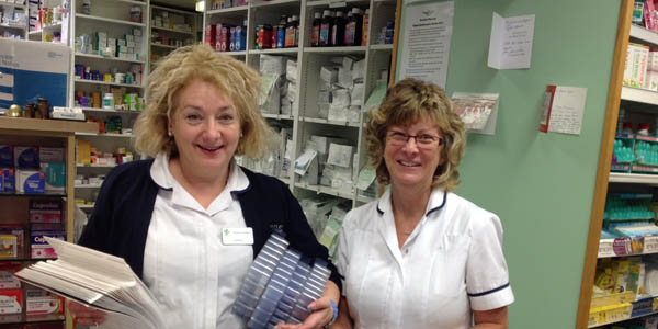 helpful staff at independent pharmacy in Hereford