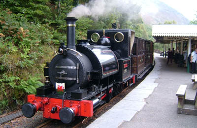 Tywyn,Wales Steam Train